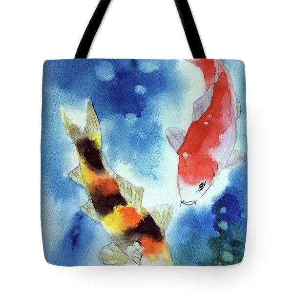 Koi Fish 4 Tote Bag