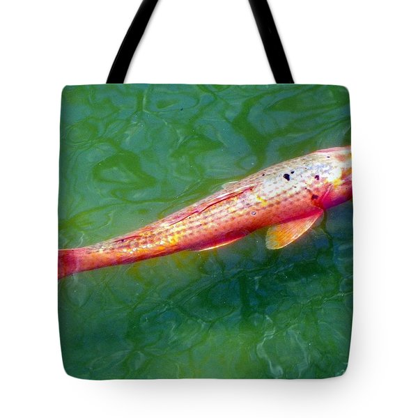 Koi Fish Tote Bag by Joseph Frank Baraba