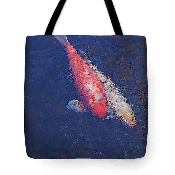 Koi Fish Partners Tote Bag