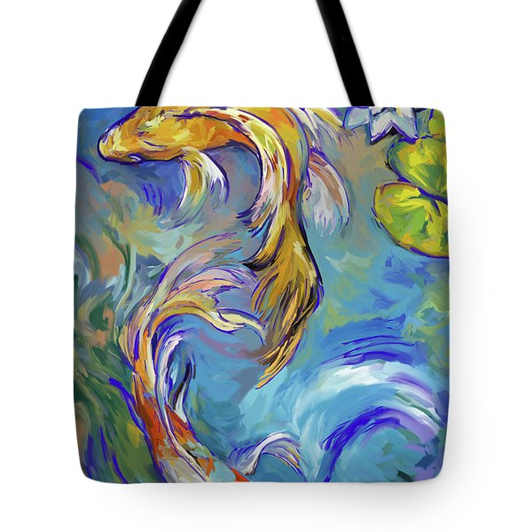 Koi Fish2 Tote Bag