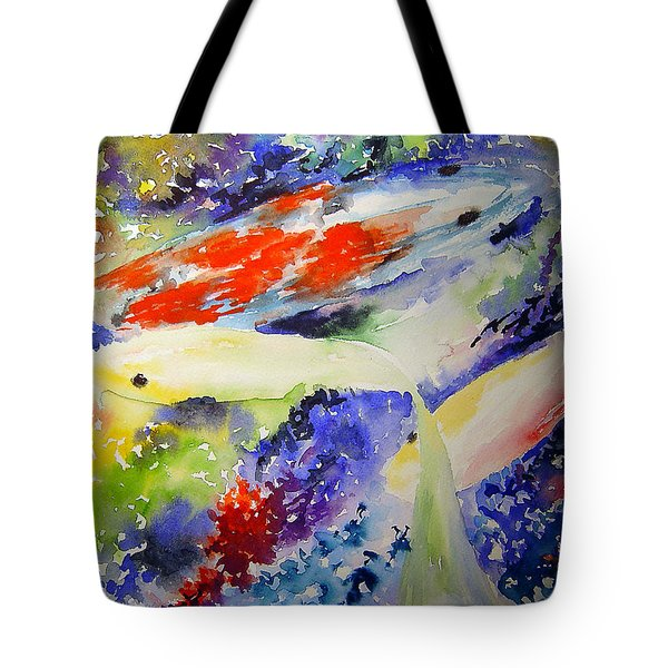 Koi Tote Bag by Joanne Smoley