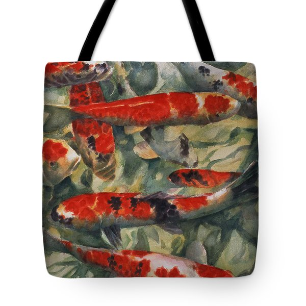 Koi Karp Tote Bag by Gareth Lloyd Ball
