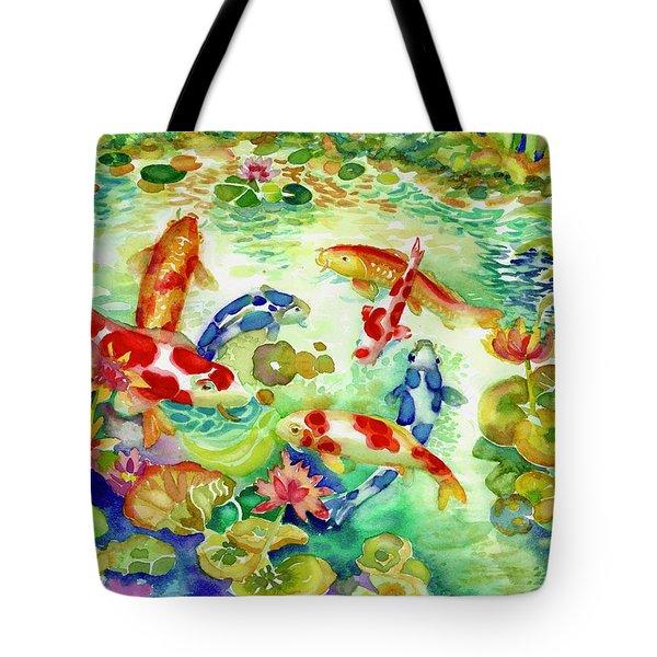 Koi Pond I Tote Bag