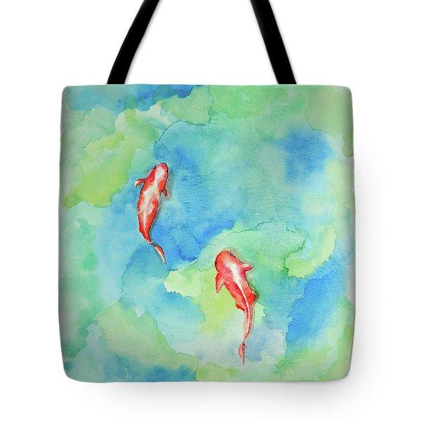 Koi Summer Tote Bag