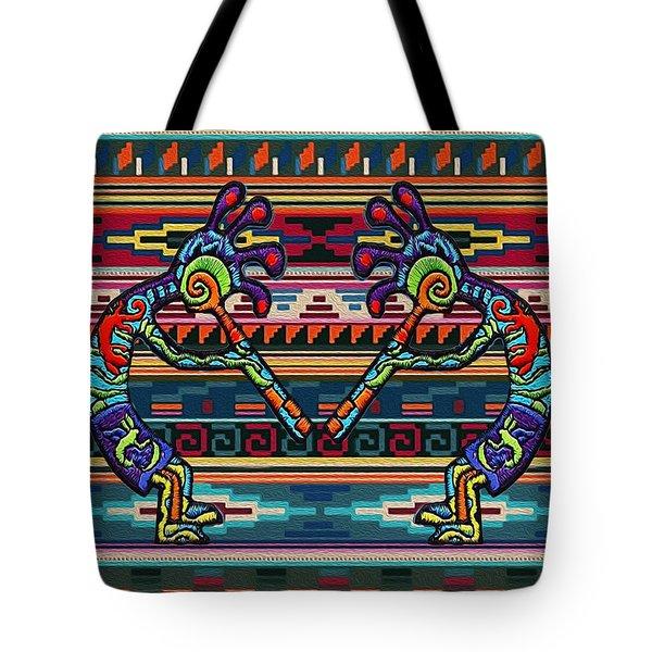 Kokopelli Art Tote Bag