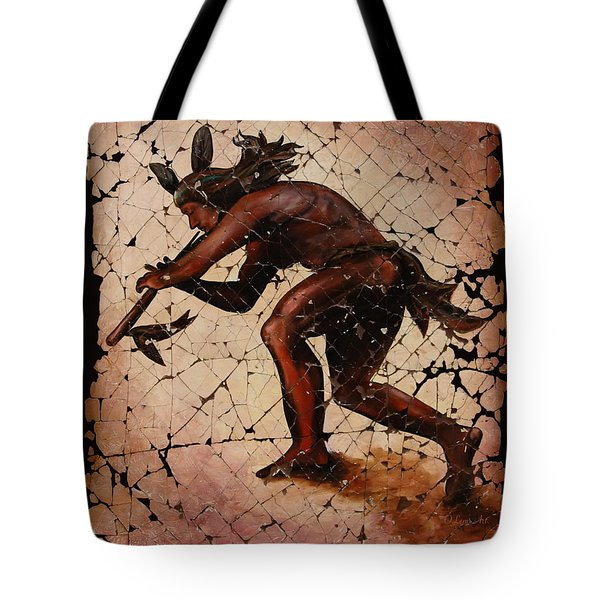 Kokopelli The Flute Player  Tote Bag by Lena  Owens OLena Art