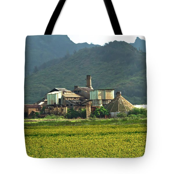 Koloa Sugar Mill Tote Bag