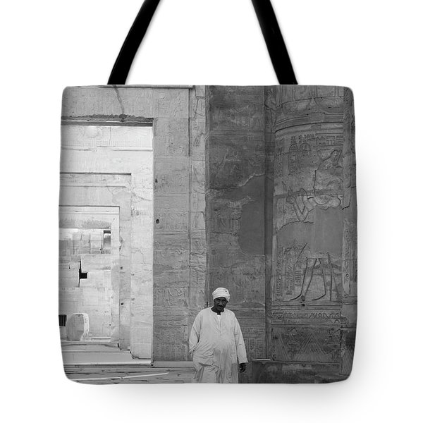 Kom Ombo Temple Tote Bag by Silvia Bruno
