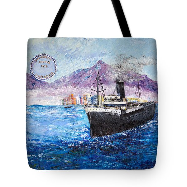 Komagata Maru In Troubled Waters Tote Bag