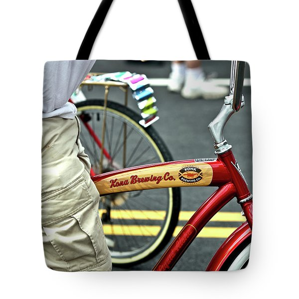 Kona Beer Bike Tote Bag