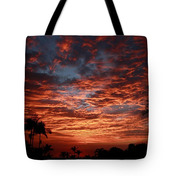 Kona Fire Sky Tote Bag
