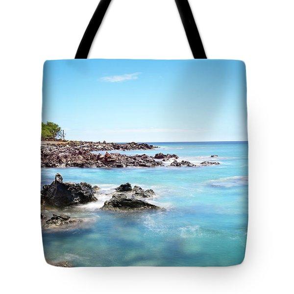 Kona Hawaii Reef Tote Bag by Joe Belanger