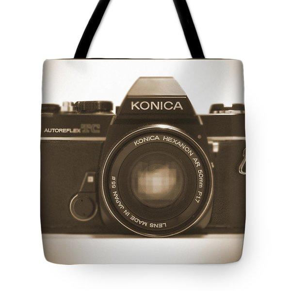 Konica Tc 35mm Camera Tote Bag by Mike McGlothlen