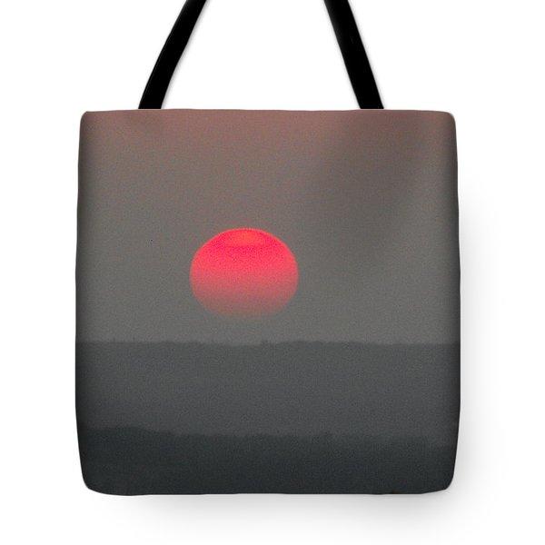 Konza Sunset Tote Bag