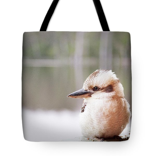 Tote Bag featuring the photograph Kookaburra by Ivy Ho