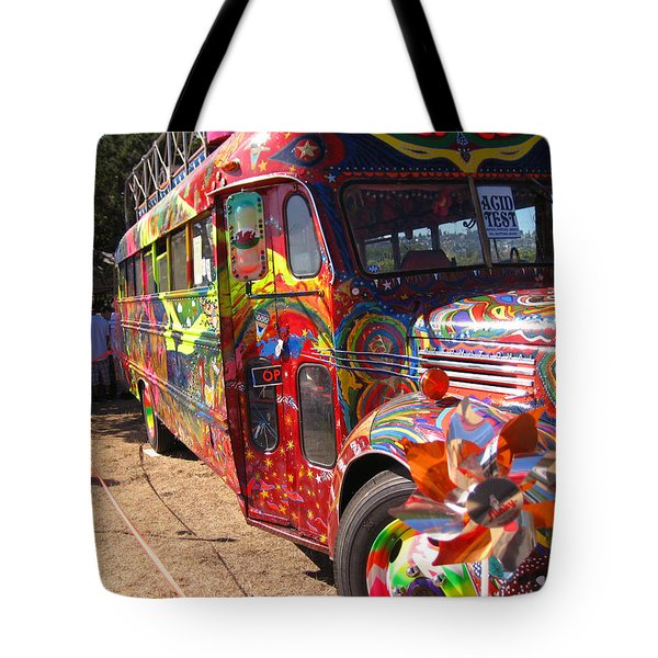Kool Aid Acid Test Bus Tote Bag