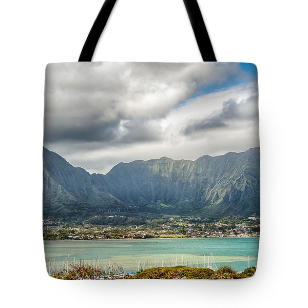 Ko'olau And H-3 In Color Tote Bag