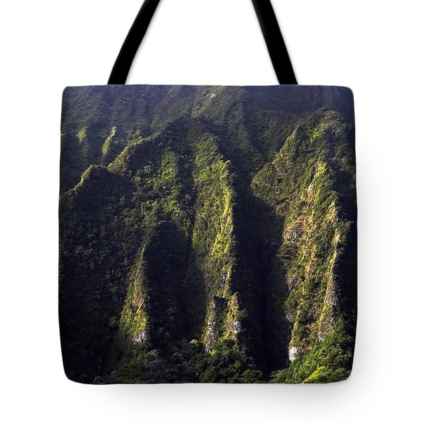 Koolau Range, Oahu Tote Bag
