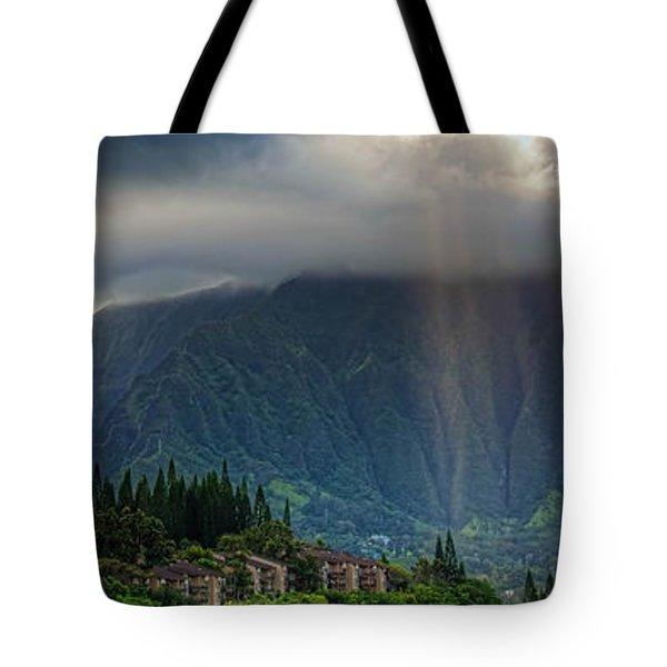 Koolau Sun Rays Tote Bag by Dan McManus