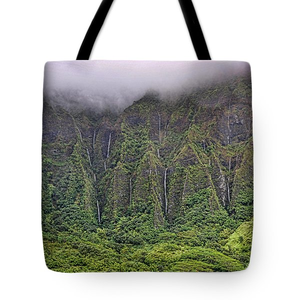Ko'olau Waterfalls Tote Bag