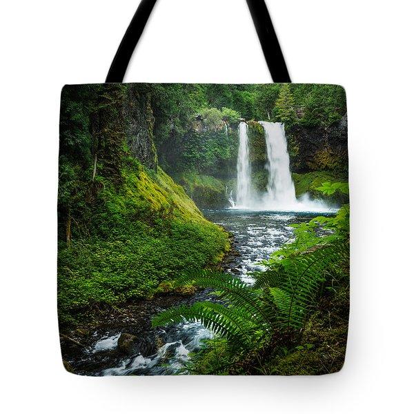 Koosah Falls Tote Bag
