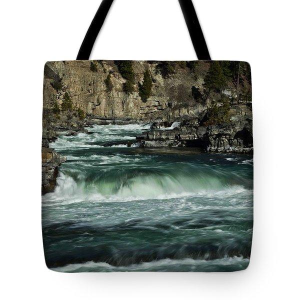 Kootenai Falls, Montana 2 Tote Bag