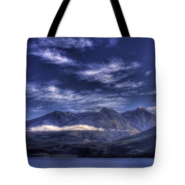 Kootenai Lake Bc Version 2 Tote Bag