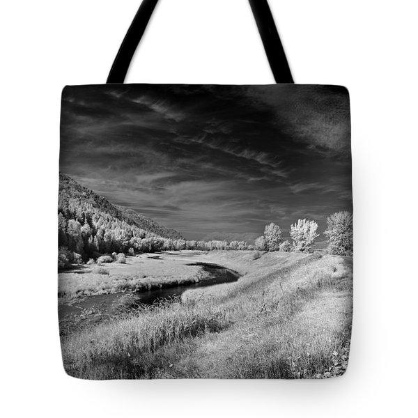 Kootenai Wildlife Refuge In Infrared 2 Tote Bag