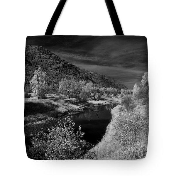 Kootenai Wildlife Refuge In Infrared 3 Tote Bag