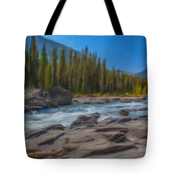 Kootenay River Tote Bag