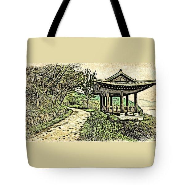 Korean Architecture Tote Bag