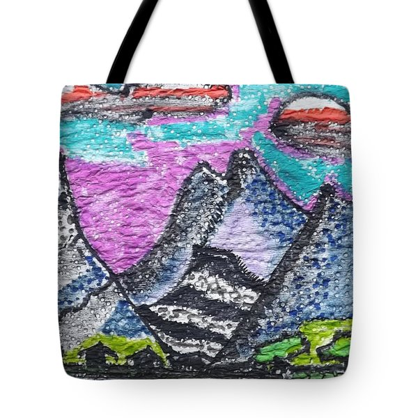 Korean Hills Tote Bag