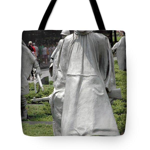 Korean War Memorial Tote Bag