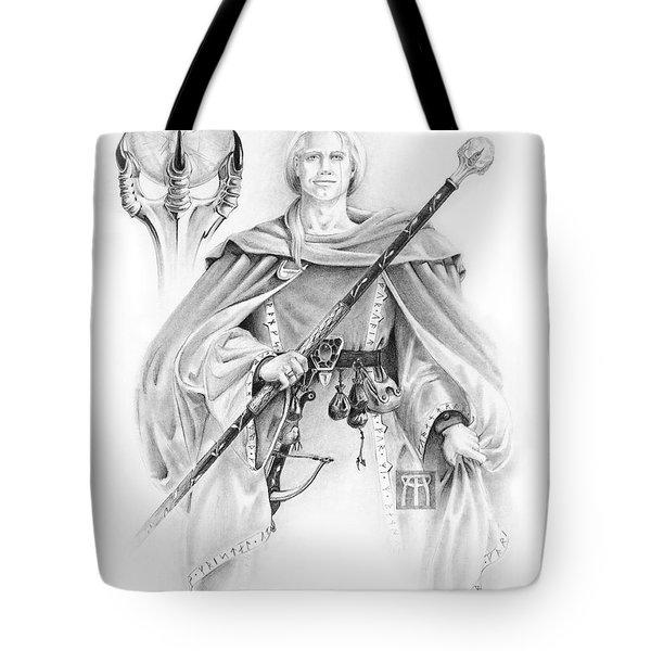 Korranderaythe Von Cristalvasser Tote Bag