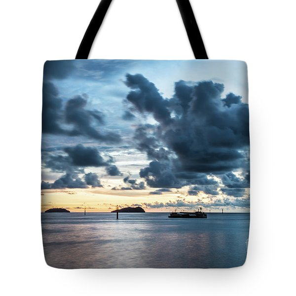 Kota Kinabalu Sunset Tote Bag