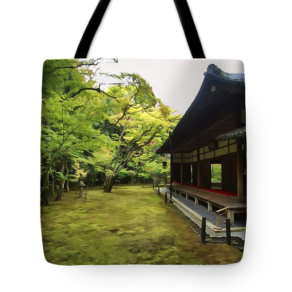 Koto-in Zen Temple Maple And Moss Garden - Kyoto Japan Tote Bag