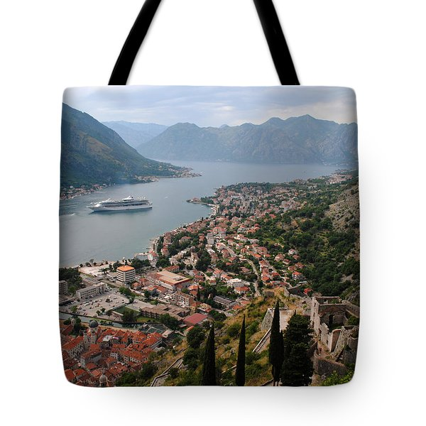 Kotor Bay Tote Bag