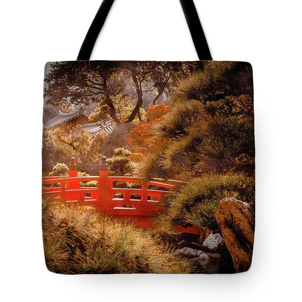 Kowloon - Red Bridge Tote Bag