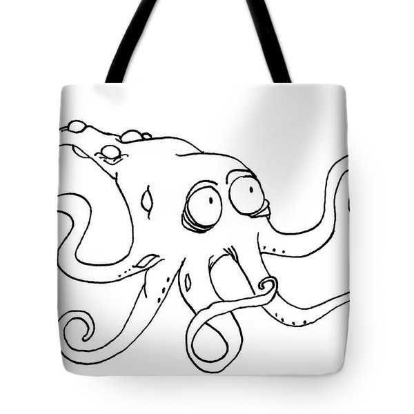 Krake Tote Bag