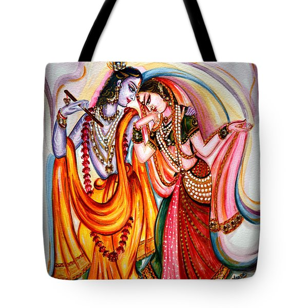 Krishna And Radha Tote Bag