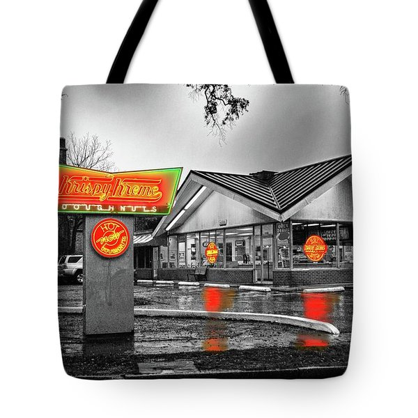 Krispy Kreme Tote Bag by Michael Thomas
