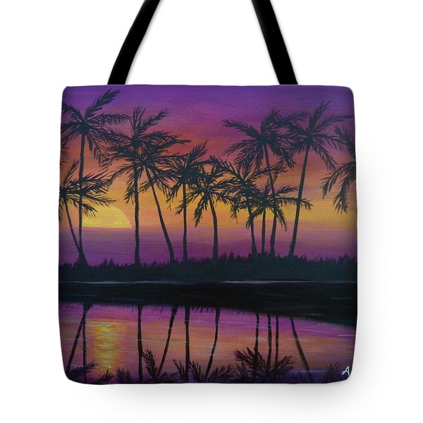 Kristine's Sunset Tote Bag