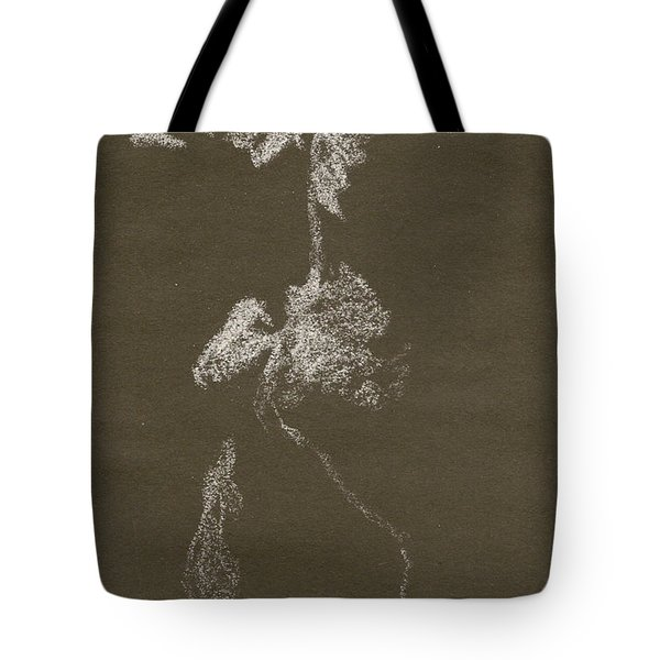 Kroki 1997, Pre.3 Vit Krita, Figure Drawing White Chalk Tote Bag