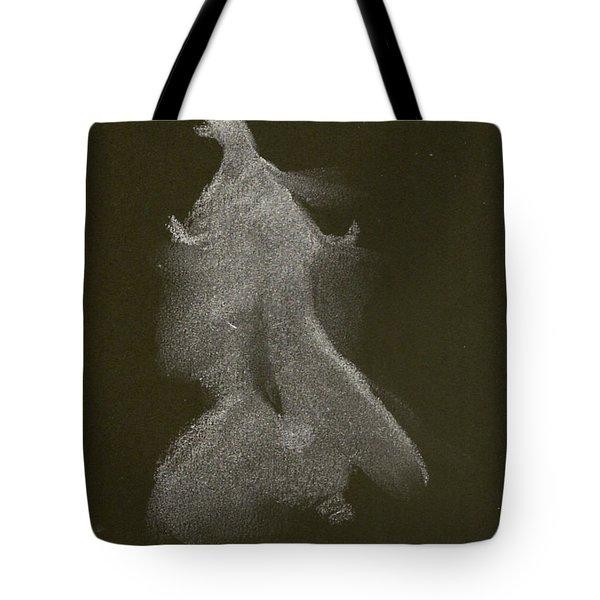 Kroki 2014 10 04_16 Figure Drawing White Chalk Tote Bag