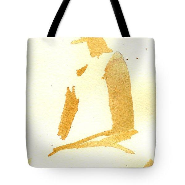 Kroki 2015 03 28_29 Maalarhelg 3 Akvarell Watercolor Figure Drawing Tote Bag