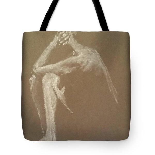 Kroki 2015 06 18_9 Figure Drawing White Chalk Tote Bag