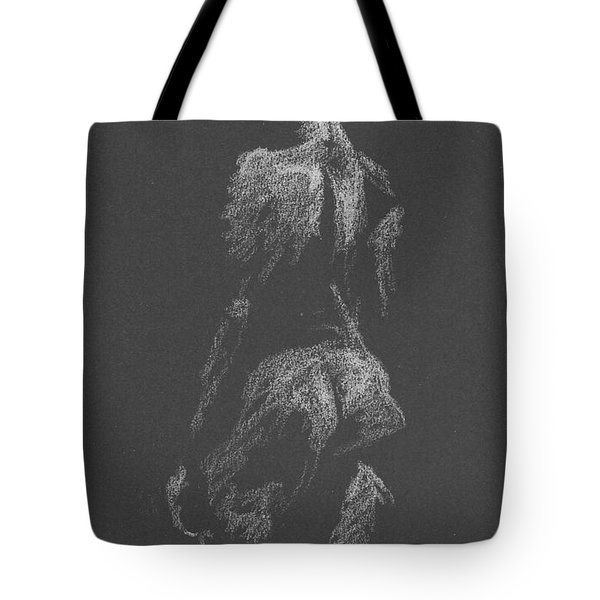 Kroki 2015 09 26 _3 Figure Drawing White Chalk Tote Bag
