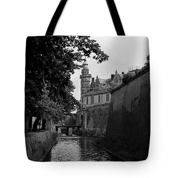 Kronborg Castle Is Hamlets Castle Tote Bag