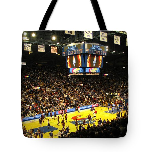 Ku Allen Fieldhouse Tote Bag