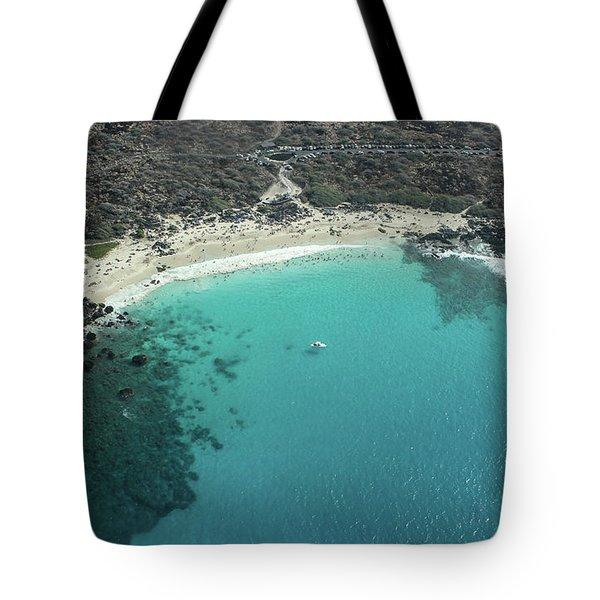 Kua Bay Aerial Tote Bag
